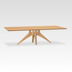 eikenhouten designtafel rechthoekig