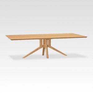 eikenhouten designtafel