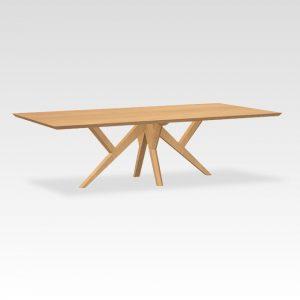 eikenhouten design tafel