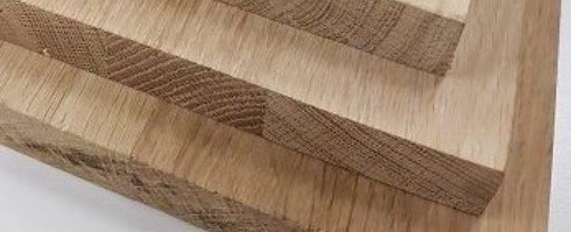 eikenhouten panelen