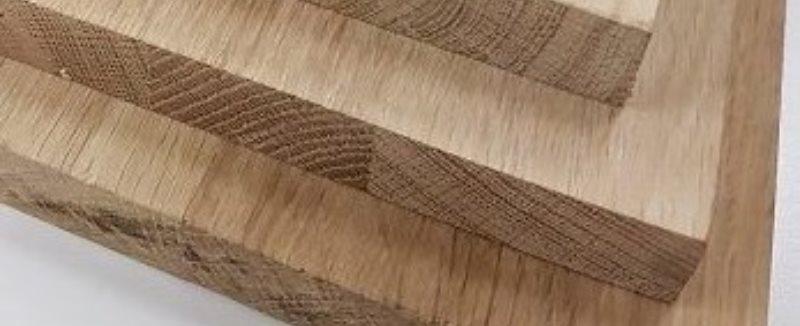 massief hout doorgaande lamel