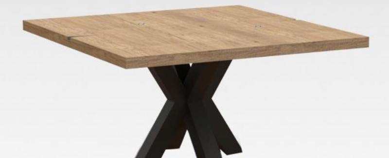 Industriele Vierkante Tafel.Vierkante Tafel Op Maat Bestelt U Eenvoudig Bij Qatrina