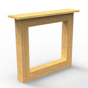 massief houten tafelpoten op maat