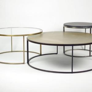 salontafelset met keramiek blad