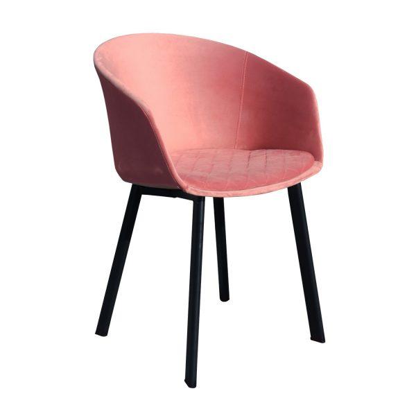 roze stoel