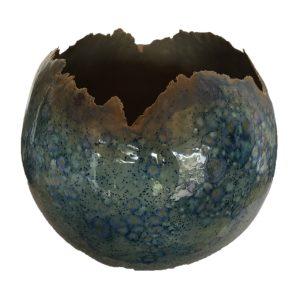 bolvaas petrolblauw 35cm