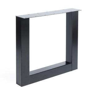 U model tafelpoot staal