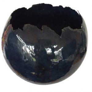 bolvaas 35 cm uni donkerblauw