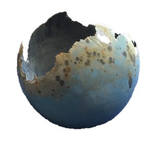 bolvaas lichtblauwtaupe